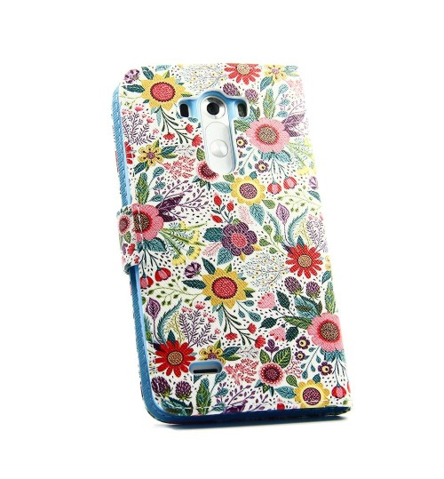 LG G3 case wallet leather case printed