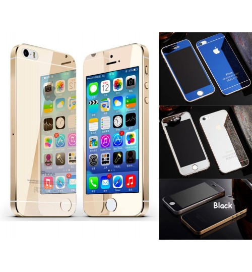 iPhone 5 5s SE Mirror Tempered Glass Screen Guard