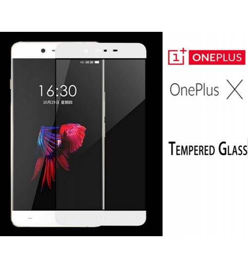 OnePlus X  tempered Glass Full Screen Protector