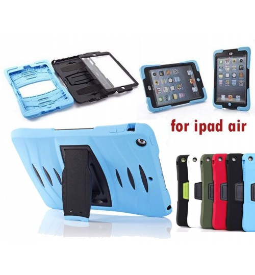 iPad AIR defender rugged heavy duty case+Pen