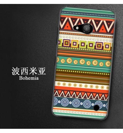 Microsoft Lumia 550 Slim hard printed case
