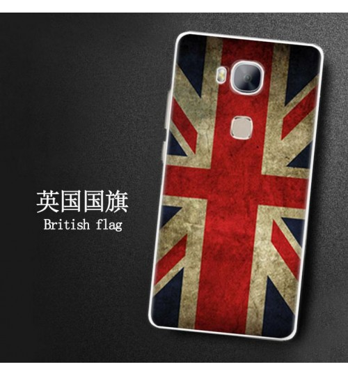 Huawei GR5 Ultra slim soft gel printed case