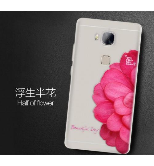 Huawei GR5 Ultra slim soft gel printed case