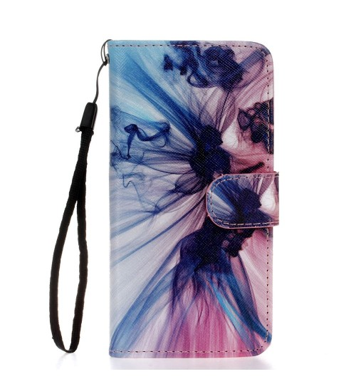 Galaxy s6 edge case wallet leather case printed