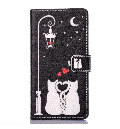 Huawei P9 case wallet leather case printed