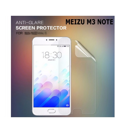 MEIZU M3 NOTE Ultra Clear Screen Protector
