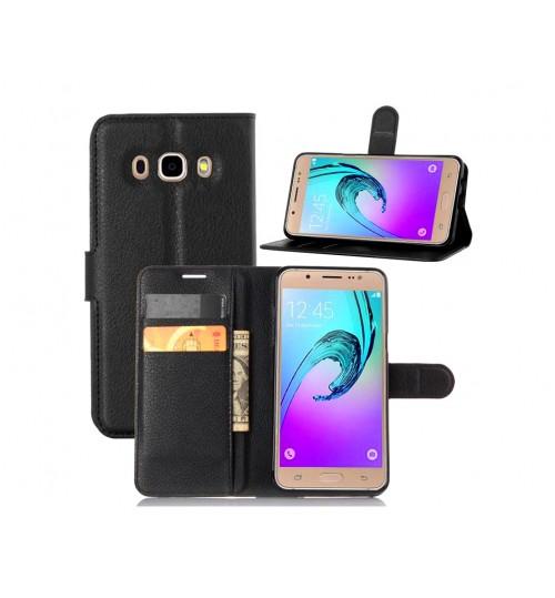 Samsung Galaxy J5 2016 case wallet leather case
