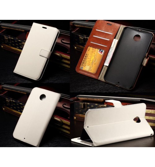 Google nexus 6 vintage fine leather case+Combo