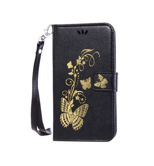 iPod Touch 6 leather full cash ID wallet case printed