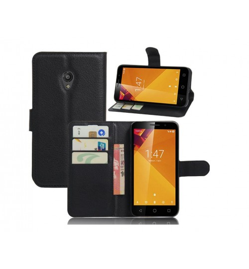 Vodafone Smart Turbo 7 wallet leather case+Pen