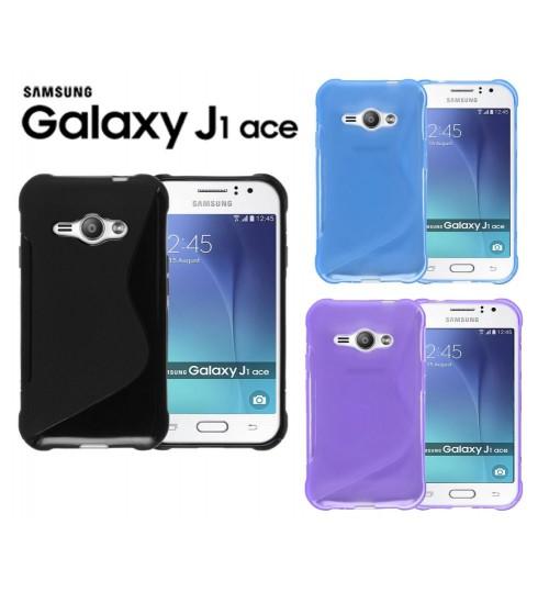 Samsung Galaxy J1 ACE case TPU gel S line case cover