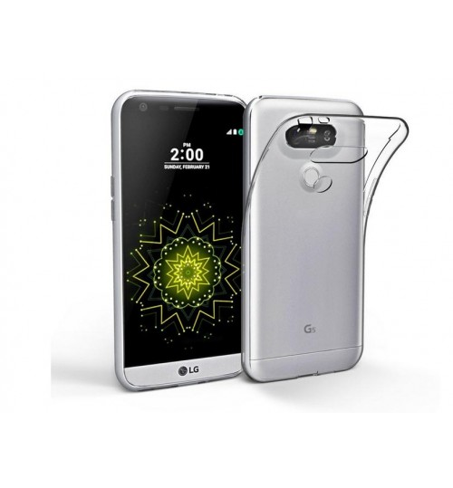 LG G5 Case Clear Gel  Soft TPU Ultra Thin Case Cover