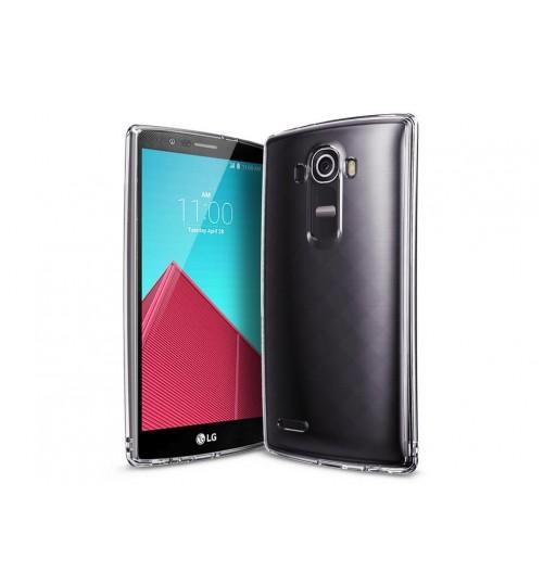 LG G4 Case Clear Gel Soft TPU Ultra Thin case