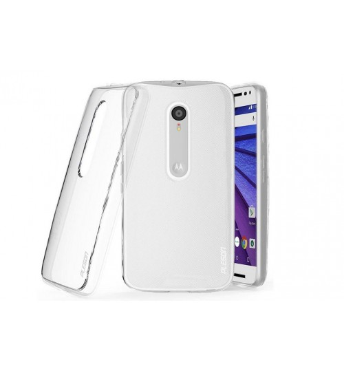 Motorola G3 Case MOTO G 3 LTE Clear Gel Soft TPU Ultra Thin case