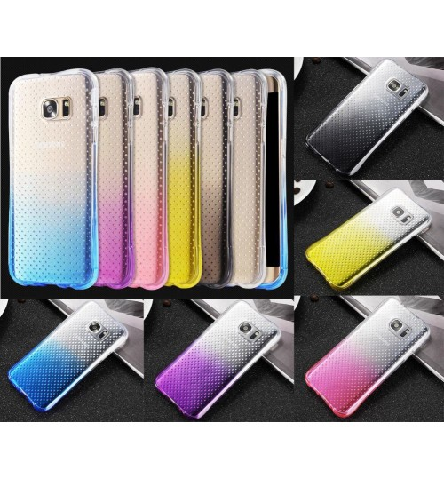 Galaxy s6 case TPU Soft Gel Changing Color Slim Shockproof Case