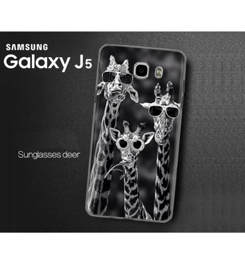 Galaxy J5 Ultra Slim hard printed case