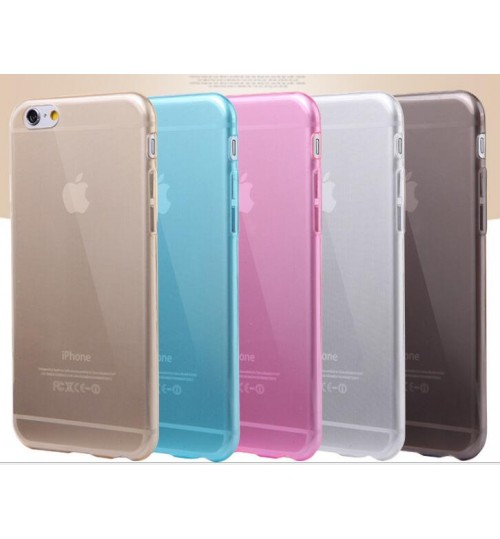iPhone 6 /6s  Clear Case slim fit TPU Soft Gel Case