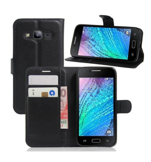 Samsung Galaxy J2 2016 case wallet leather case cover