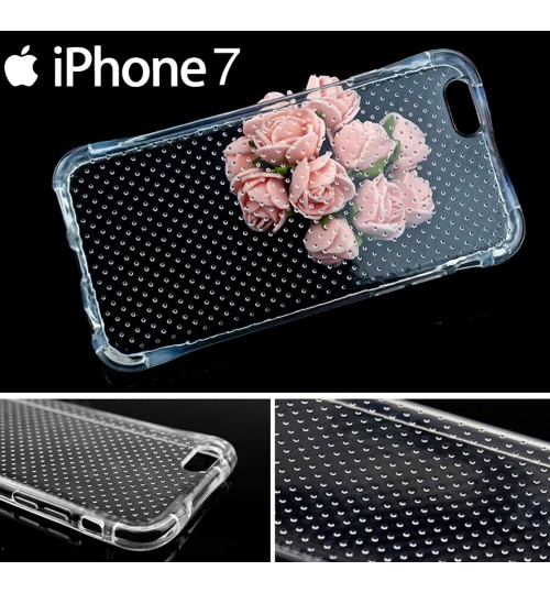 iPhone 7 Clear Case slim fit TPU Soft Gel Case