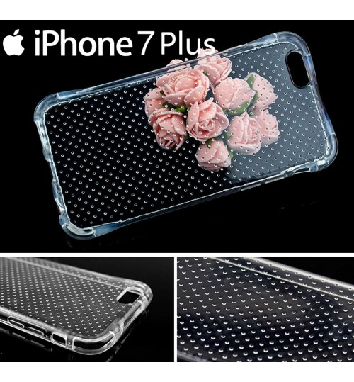 iPhone 7 Plus Clear Case slim fit TPU Soft Gel Case