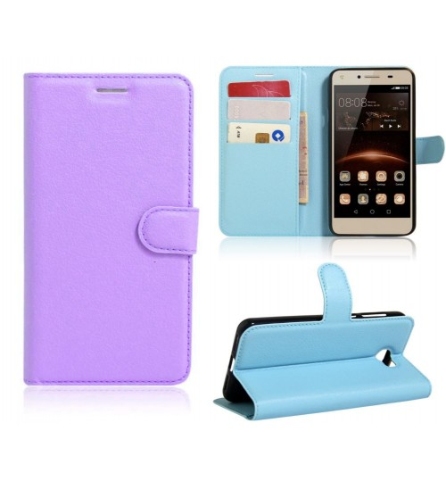 Huawei Y6 Elite case Huawei Y5 II   wallet leather case cover