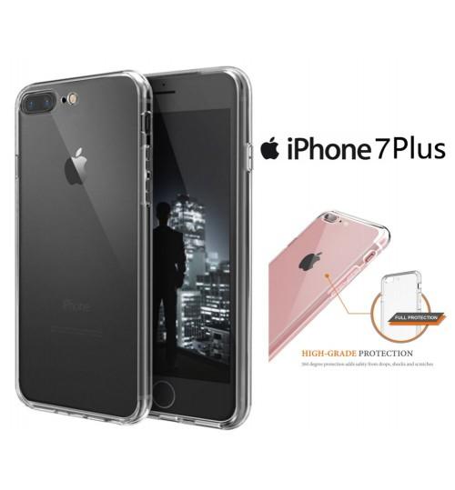 iPhone 7 plus Clear Case slim fit TPU Soft Gel Case