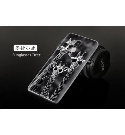 HUAWEI GT3 HUAWEI Honor 5c case Ultra Thin hard printed case