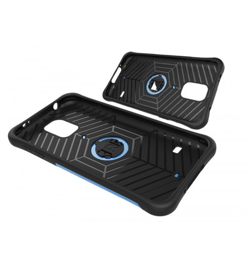 Galaxy S5 Case Heavy Duty Hybrid Kickstand Case