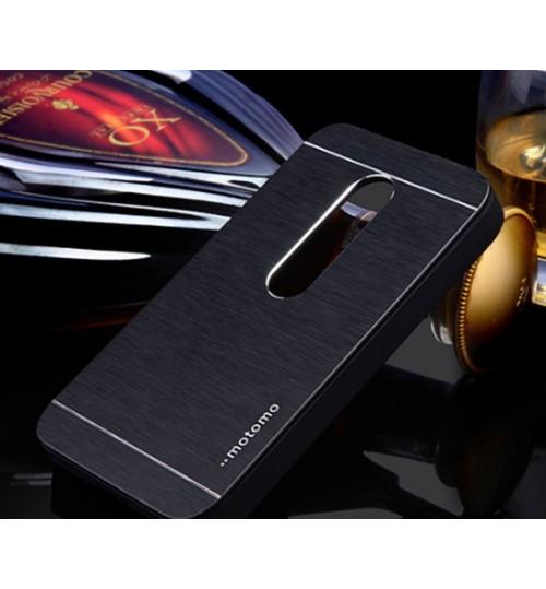 MOTO G3 case aluminium Metal hybrid case