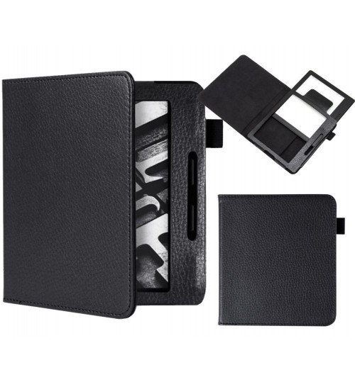 Kindle Oasis ultra slim leather smart case