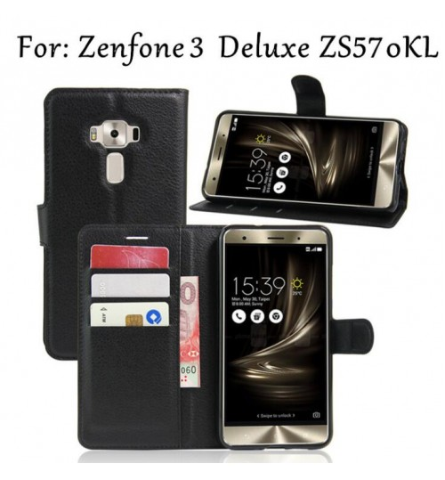 Asus ZenFone 3 Deluxe case wallet leather case+Pen