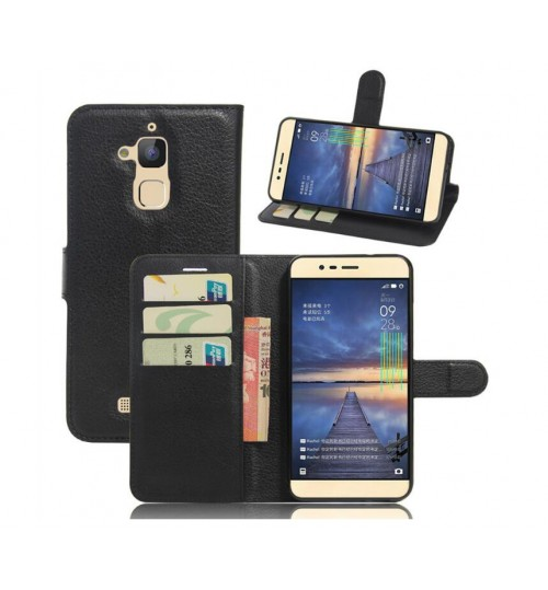 Asus zenfone pegasus 3 case wallet leather case+Pen