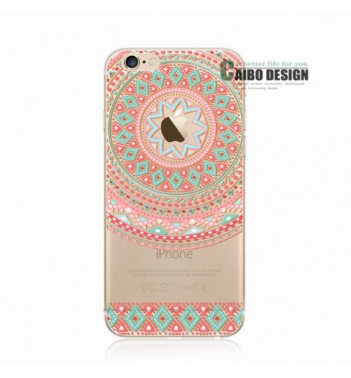 iPhone 7 case Ultra Slim Soft Gel TPU printed case