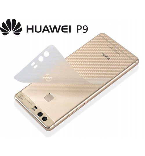 Huawei p9 carbon fiber back panel protector