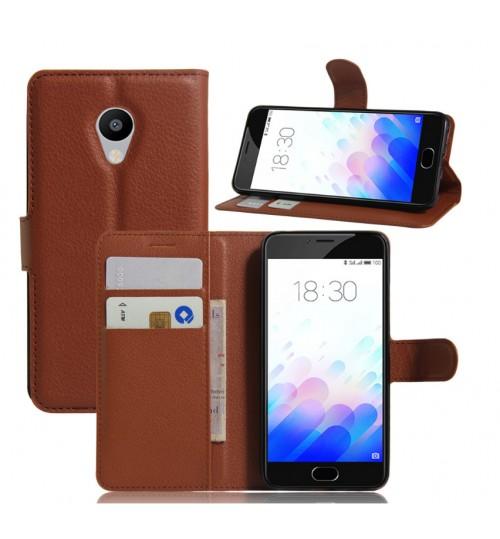 MEIZU M3S case wallet leather case