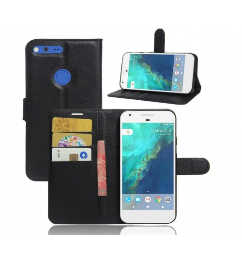 Google Pixel XL case wallet leather+Combo