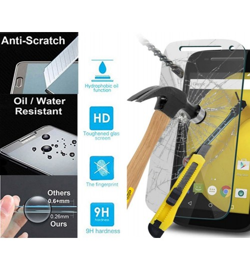 Moto E3 POWER Tempered Glass Screen Protector Film
