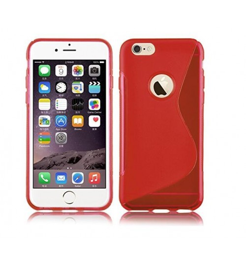 iphone 6 6s gel case TPU S line matte case