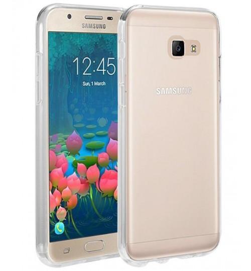 Samsung Galaxy J5 Prime case clear gel Ultra Thin+Pen