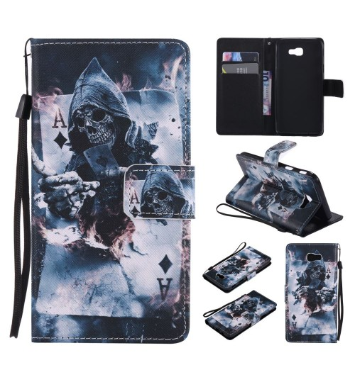 Samsung Galaxy J5 Prime case wallet leather case printed