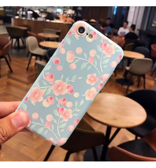 iPhone 7 Case Soft Gel Ultra Thin Cover +SP