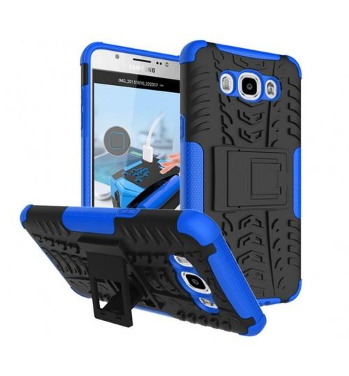 Galaxy J7 2016 Case Heavy Duty Hybrid Kickstand