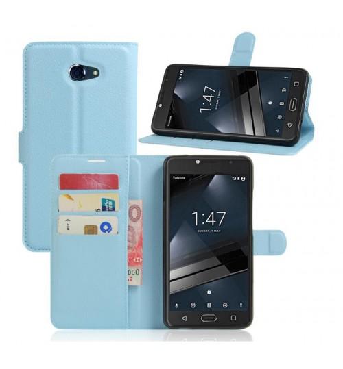 Vodafone Smart Ultra 7 wallet leather case+Pen