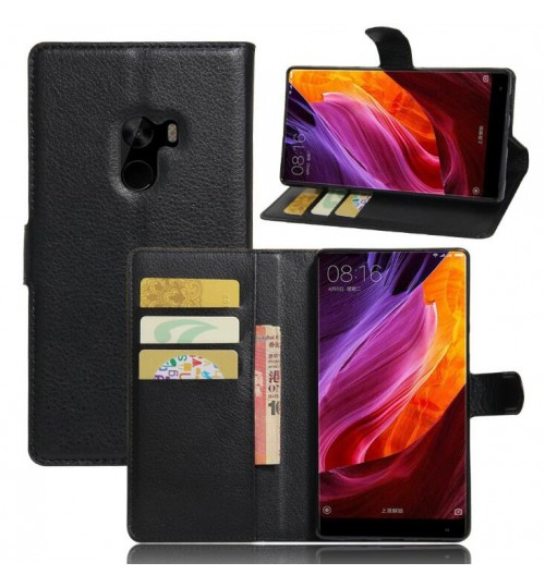 Xiaomi Mi Mix wallet leather case+Pen