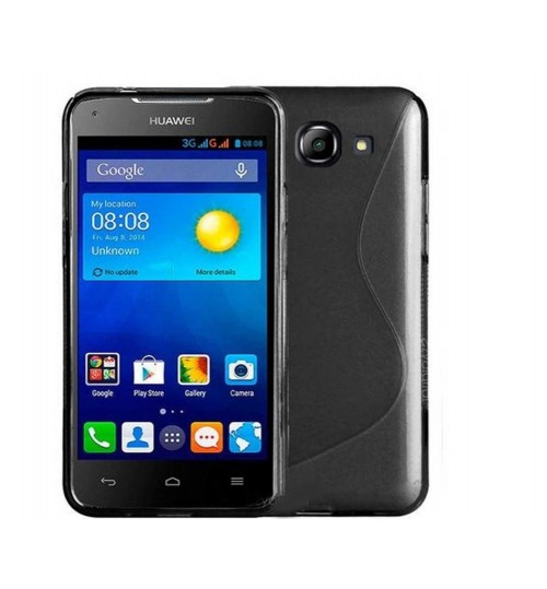 Huawei Ascend Y520 case TPU gel cover S line