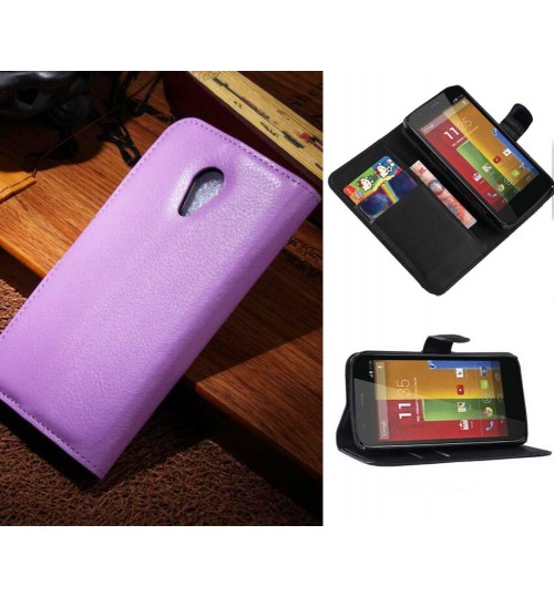 Moto G2 Wallet leather cover+pen