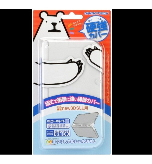 Japan Gametech Ultra Clear Hard Protect Case for Nintendo New 3DS LL XL