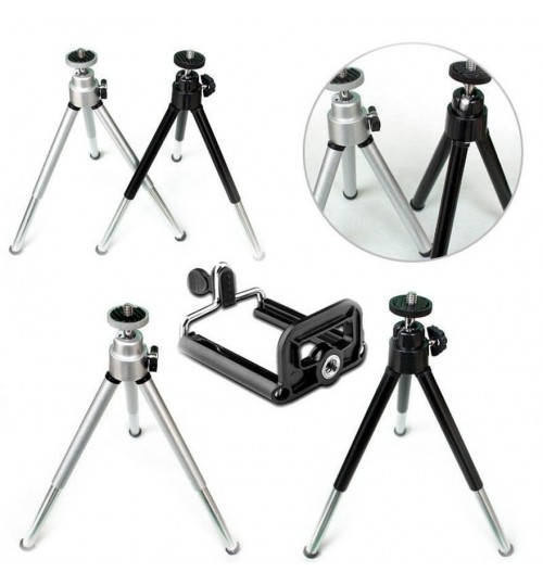 Mini Small Tripod Stand Camera Travel Micro Flexible Desktop Mount For Gopro