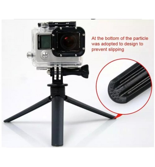 Universal Mini Tripod Stand Mount Base Holder For GoPRO SmartPhone Camera
