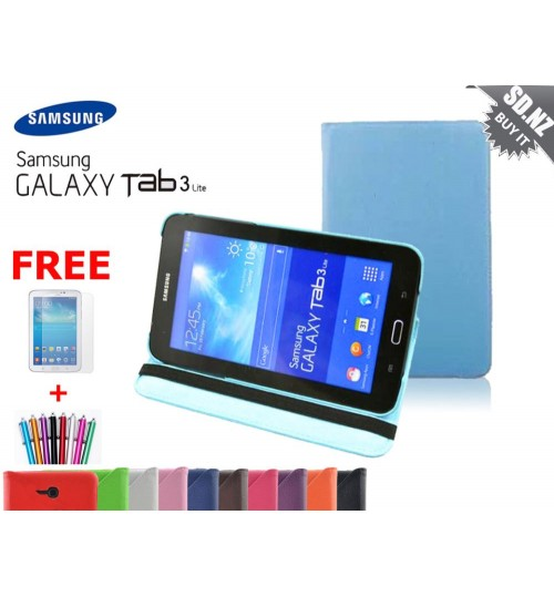 Galaxy Tab 3 7\'\' Lite VE Leather Case+SP+PEN